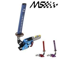 Nowa dostawa Car Styling hydrauliczny hamulec ręczny wyścigi miecz samuraja hamulec ręczny Drift hamulec ręczny Parking domyślny kolor niebieski