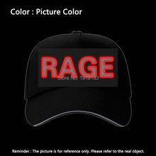 New BOY/GIRL/RAGE Fluorescent Baseball Caps EL Wire Party Hat For Women Men Casual Unisex Caps Hats Glow In The Dark(China)