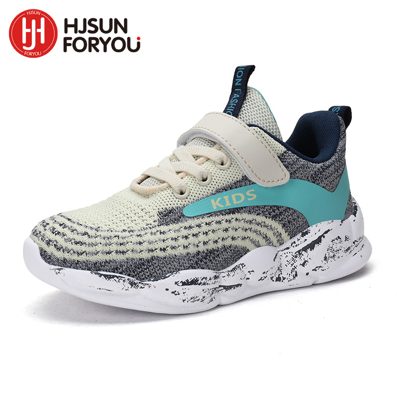 2020 Spring Children Shoes Boys Breathable Sports Shoes For Girls Fashion Casual Shoes Kids Air Mesh Sneakers Kids Running Shoes