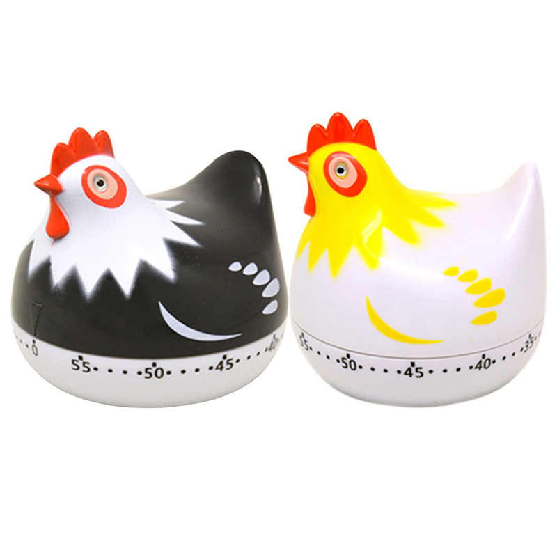 Cute Chicken Shaped Digital Count Up Down Alarms Timer Home Kitchen Cooking PRD