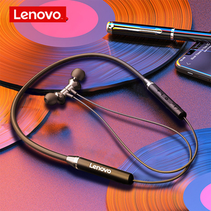 Original Lenovo He05 Bluetooth Headphone 0.6m Wireless Earphone BT5.0 Sports Sweatproof Headset IPX5 with Mic Noise Cancelling(China)