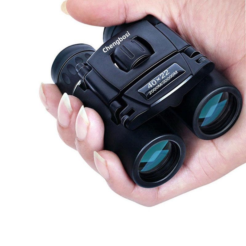 40x22 Camping Hunting Scopes Chengbosi Binoculars with Neck Strap Carry Bag HD Vision Telescope Bak4 Prism Optics Binocular