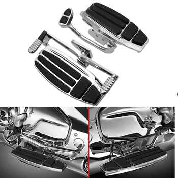 Motorcycle Chrome Driver Foot Board Floorboard Kits For Honda Goldwing GL1800 & F6B 01-17 Valkyrie 14-15 - DISCOUNT ITEM  6 OFF Automobiles & Motorcycles