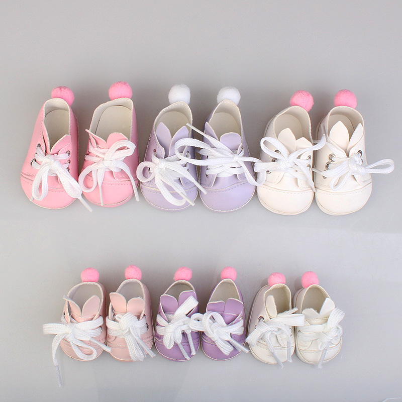 1PCS PU Leather Sports Shoes For 1/6 BJD Doll 14.5inch Girl Dolls Fashion Mini Toy Shoes EXO Doll Accessories