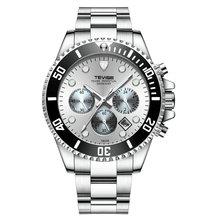 TEVISE Twiss T823a Men Quartz Steel Belt Watch