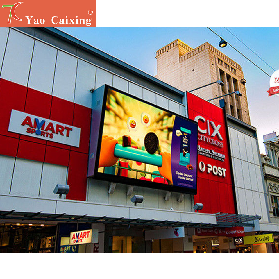 P8 SMD Outdoor Full Color Simple Cabinet Advertisemet Led Display