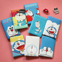 Doraemon Machine Cat Cartoon Cartoon Passport Cover Waterproof Passport Passport Clip ID Card Holder