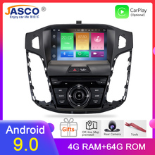 Octa Core Android 9.0 Car Radio GPS HD 9 and 8 Navigation Stereo For ford Focus 2012 2013 2014 2015 2016 2017 Auto Audio