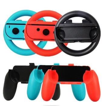 2Set Silicone Controller Grips Case  Joy-Con cases For Nintend Switch Joy Con Handle NS N-Switch cover Game Console Accessories - discount item  30% OFF Games & Accessories