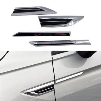 สำหรับ 2016 2017 2018 VW Tiguan Mk2 ประตูปีกด้านข้าง Emblem Badge สติกเกอร์ Trim