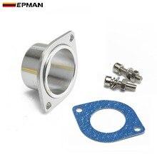 Epman алюминиевый BOV обход переходный фланец тип R/RS/S/RZ/FV выдувный клапан компрессор выходной патрубок EPCGQ112
