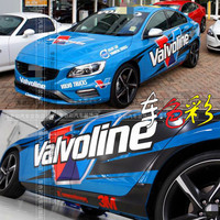 Car stickers For Volvo vaivoline body appearance modified stickers vaivoline personalized sports car decoration stickers