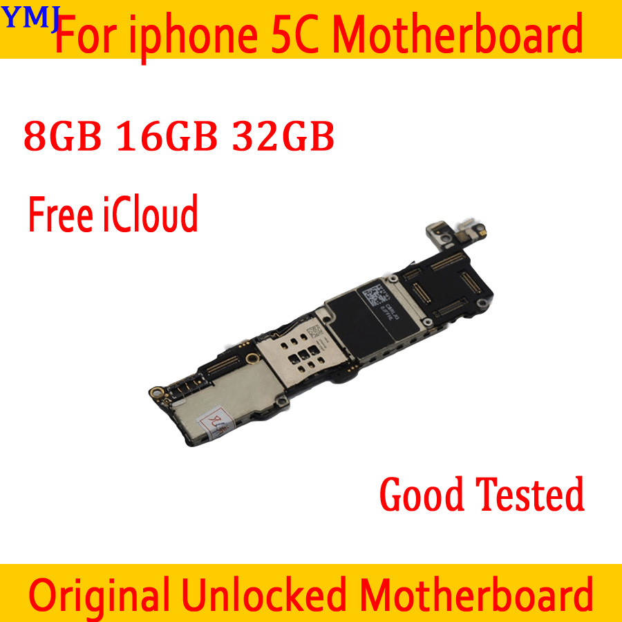 Galleria fotografica 8GB 16GB 32GB Original unlocked for iphone 5C Motherboard with Full Chips,for iphone 5C Mainboard with Free iCloud,Good Tested