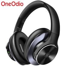OneOdio süper derin bas Bluetooth V5.0 kablosuz kulaklıklar aktif gürültü iptal Bluetooth kulaklık hızlı şarj ile A10