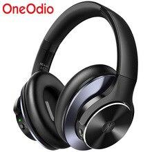 Oneodio Super Diepe Bas Bluetooth V5.0 Draadloze Hoofdtelefoon Active Noise Cancelling Bluetooth Oortelefoon Met Snel Opladen A10