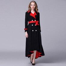 Высококачественные женские шерстяные пальто зимнее двубортное шерстяное пальто женское отличное пальто D458