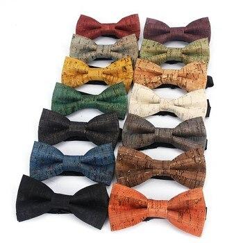 Boy's Natural Cork Bow Tie 1