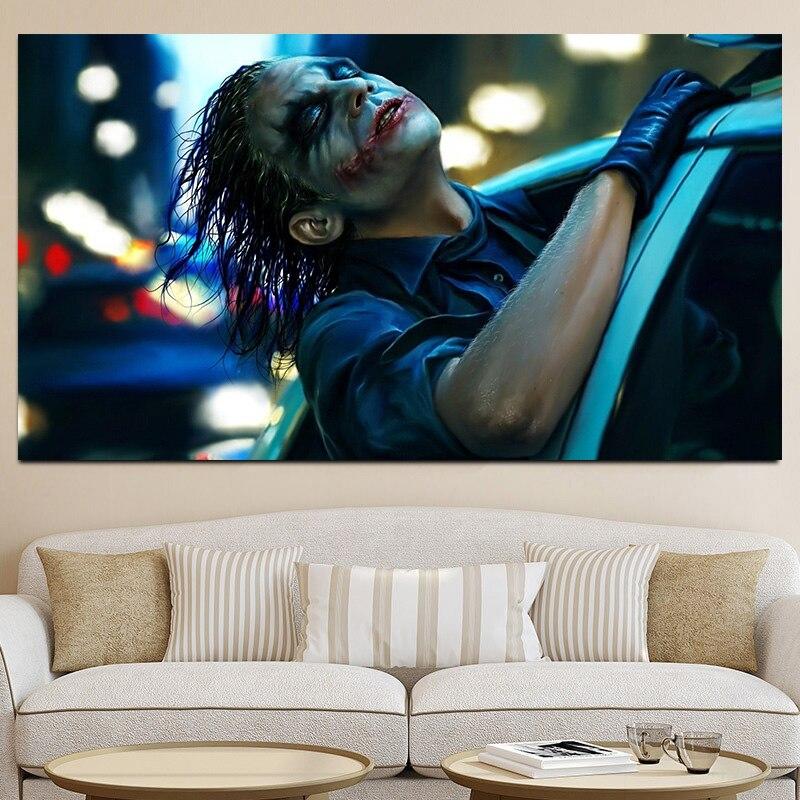 Плакат по мотивам фильма джокер, настенное искусство, холст, живопись, Декор, современные картины