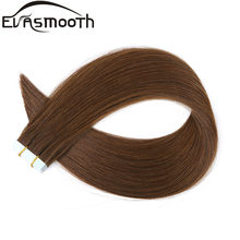 "Evasmooth Huid Inslag Machine Remy Tape In Human Hair Extension 20 Pcs 40 Pcs 80 Pcs Plakband In Haar extensions 12 ""/16""/20""(China)"