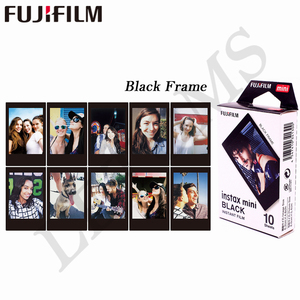 Image 5 - 10 yaprak Fuji Fujifilm instax mini 9 filmler 3 inç film anında kamera mini 8 9 7s 25 50s 90 dondurulmuş Pokemon fotoğraf kağıdı