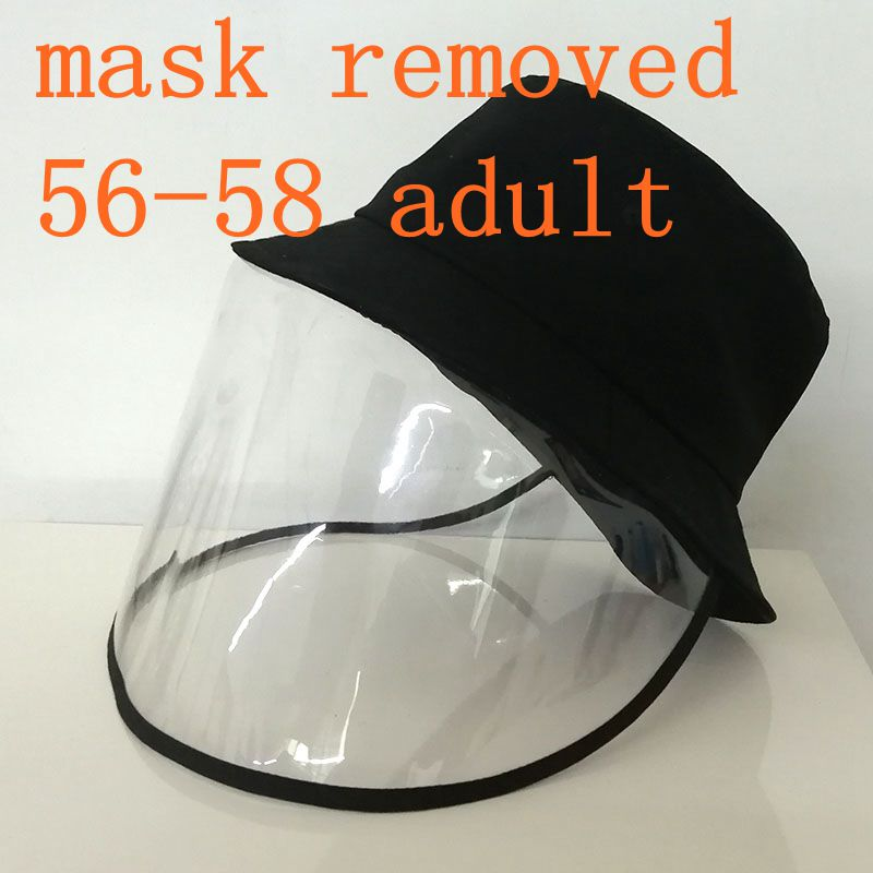 Removed Face Mask Hat Hat With Face Mask Anti Spittle Cover Full Face Mask Hat Hat Women Men Bucket Hat Baseball Hat