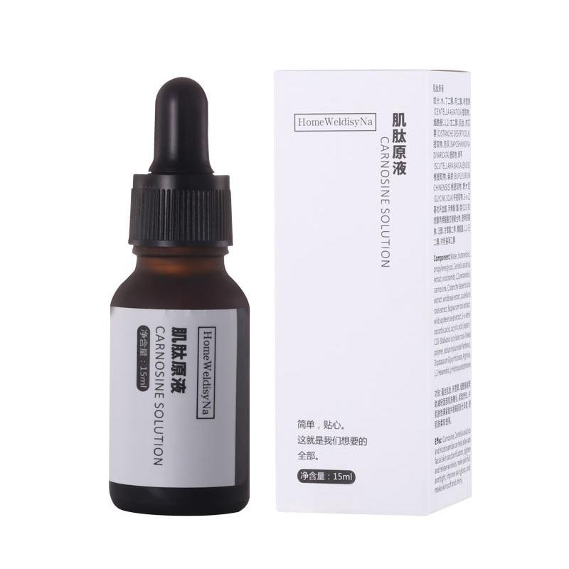Face Serum Carnosine Solution Anti-glycation Remove Yellow Tone Brighten Repair Skin Collagen Skin Care Product