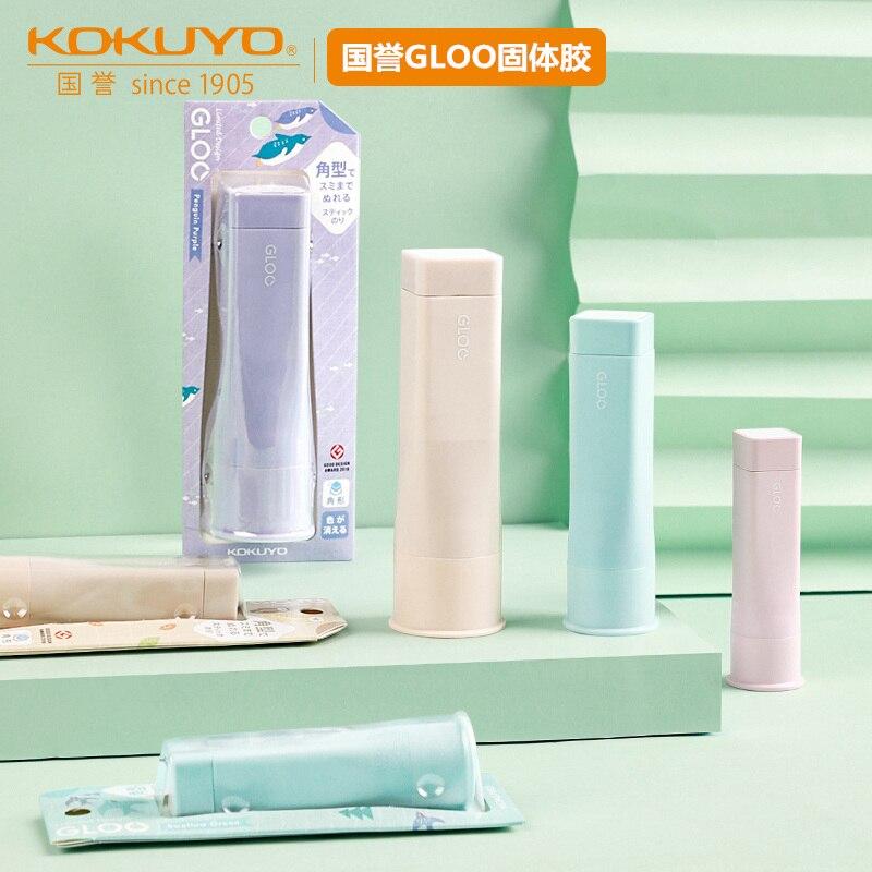 KOKUYO Limited Kawaii G311 GLOO Square Solid Glue Guns Sticks Three Sizes S M L DIY Tools Student Handmade Office Supplies