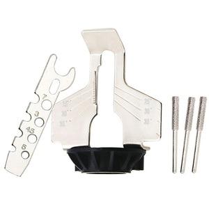 Image 3 - Цепная пила, зубчатые шлифовальные инструменты, долговечное приспособление для заточки, острый электрический шлифовальный станок, инструмент для наружного сада