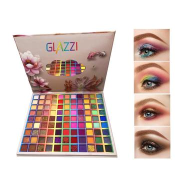 99 Colors Glitter Eye Shadow Palette Pigmented Powder Shimmer Eye Shadow Powder Matte Glitter Stage Party Eyeshadow Palette 1