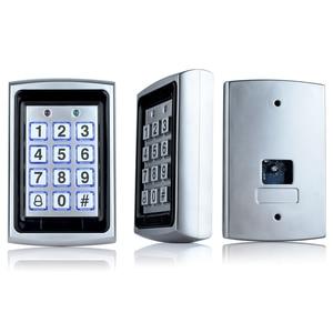 Image 5 - OBO Waterproof Metal Rfid Access Control Keypad Reader Board + 10pcs Key Fobs For RFID Door Access Control System WG26 Backlight
