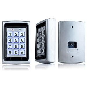 Image 5 - OBO panneau de contrôle daccès Rfid en métal, 10 pièces, clavier pour système de contrôle daccès RFID WG26, rétroéclairage