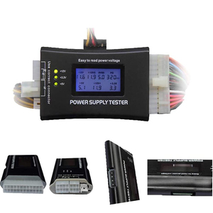 тестер блока питания ПК тестер мультиметр тестер аккумулятор Тестер компьютерного источника питания тестер аккумулятора, мультиметр, тест...