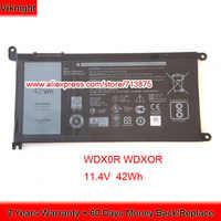 Оригинальный 11,4 V 42Wh T2JX4 wdxor WDX0R Батарея для Dell Inspiron 13 5378 7368 13 5368 15 5538 5567 5568 15 7000 7560 3CRH3