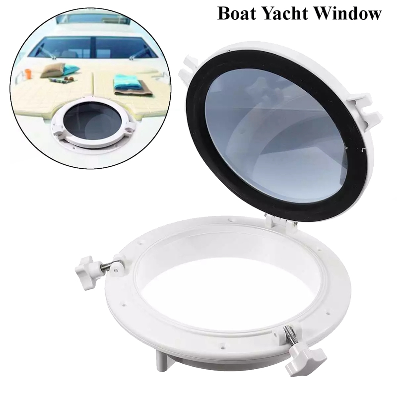 10 Inch RV Boat Yacht Round Portlight Window Replacement Porthole Accessories