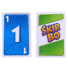 UNO SKIP BO Card Game The Sequencing Card Game Family Party Board Game Toys Kids Toy 1Box cheap CN(Origin) 12 Years 61-120 minutes Primary Playing Cards Normal Book Paper UNO Card Card Cover