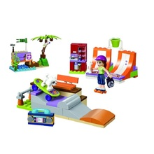 10491 Friends Series The Heartlakes Skate Park Building Blocks Set Compatible with Girls S Toys