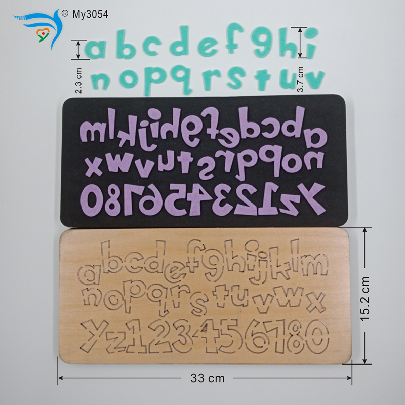 Home Decoration Accessories   Letter  Wooden Die For Scrapbooking  MY3054