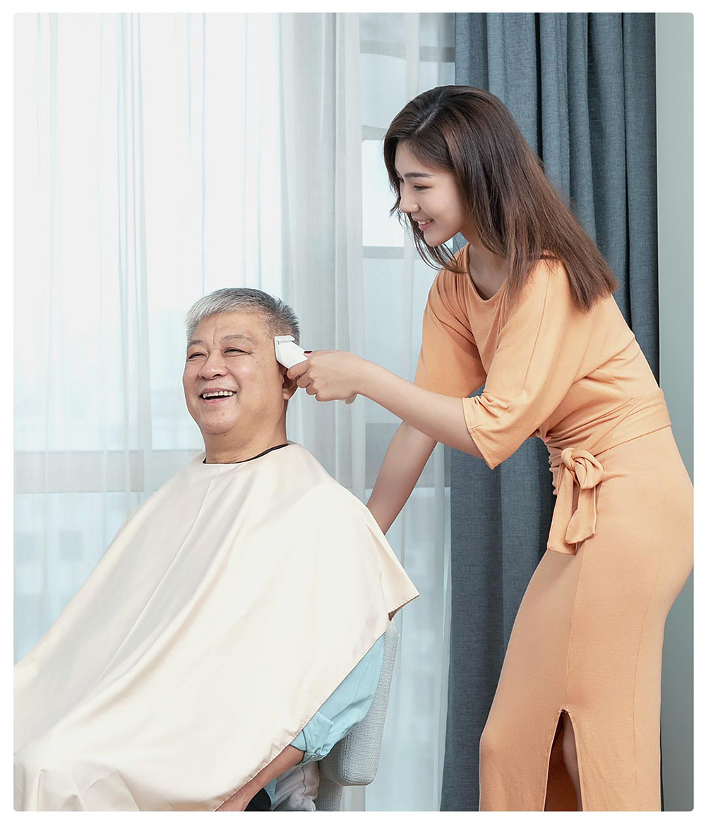corte de cabelo cerâmica trimmer para homens crianças