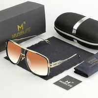 Novo estilo 2020 óculos de sol marca designer óculos de sol condução masculino grandmaster quadrado