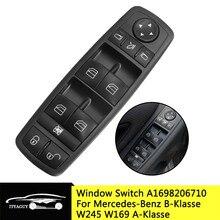 A1698206710 Elektrische Master Fenster Schalter für Mercedes Benz B Klasse W245 W169 A Klasse R350 GL350 GL450 EINE 169 820 67 1698206710