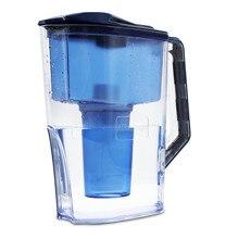 Jarra de filtro de agua alcalina (WP6) 7 etapas, cebador ionizador de agua para purificar, aumenta los niveles de PH y proporciona una baja presión negativa ORP