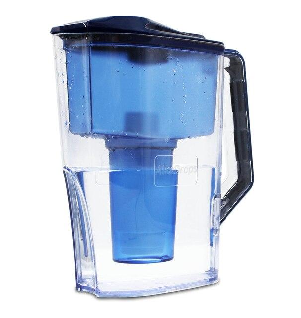 알칼리성 물 여과기 투수 (WP6) 7 단계 물 Ionizer prifier는 PH 수준을 증가시키고 낮은 부정적인 orp를 제공합니다