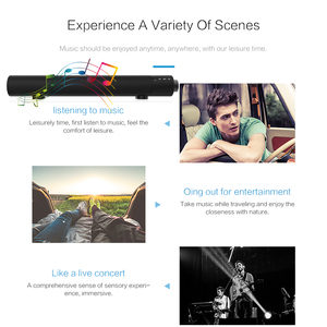 Image 5 - Soundbar Wired and Wireless Bluetooth 4.2 Speaker for TV,soundbar with subwoofer Wireless Bluetooth Sound Bar For TV laptop