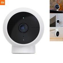 Xiaomi Mijia açık akıllı IP kamera standart IP65 su geçirmez toz geçirmez 1080p FHD 170 ° 2.4GG Wi Fi IR gece görüş mihome App