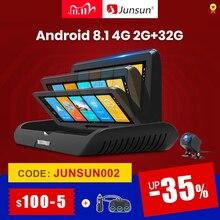 Junsun E95P Auto 4G Android 8,1 ADAS 2 + 32GB Auto DVR Dash Cam FHD 1080P Dual objektiv aufnahme Auto DVRs recorder rückspiegel