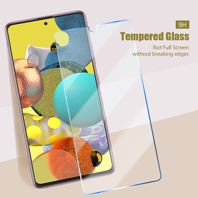 4in1 Tempered Glass for Samsung Galaxy A51 A52 A21S A32 5G Camera Len Screen Protector for Samsung A71 A72 A41 A31 A11 A12 Glass 5