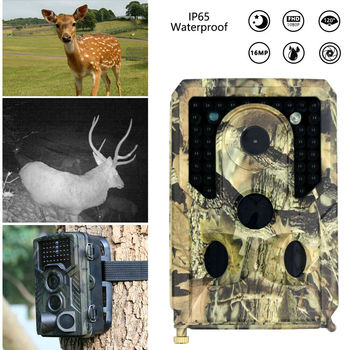 12MP 1080P Hunting Camera Wildlife Trail Infrared Night Vision Thermal Imager Video Cameras Hunting Traps Track Scouting hc 800a 12mp 1080p infrared digital trail camera 120 degree wide angle night vision hunting camera wildlife scouting device