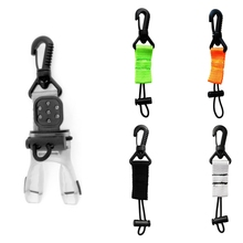 Underwater Scuba Diving Mouthpiece Holder Regulator Octopus Retainer with Webbing Clip Water Sports Swimming Diving