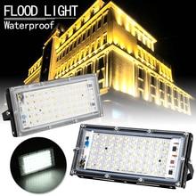 LED Flood Light 50W AC220V AC230V 240V Waterproof Ip66 Spotlight Outdoor Garden Lighting Floodlights Led Reflector Cast light