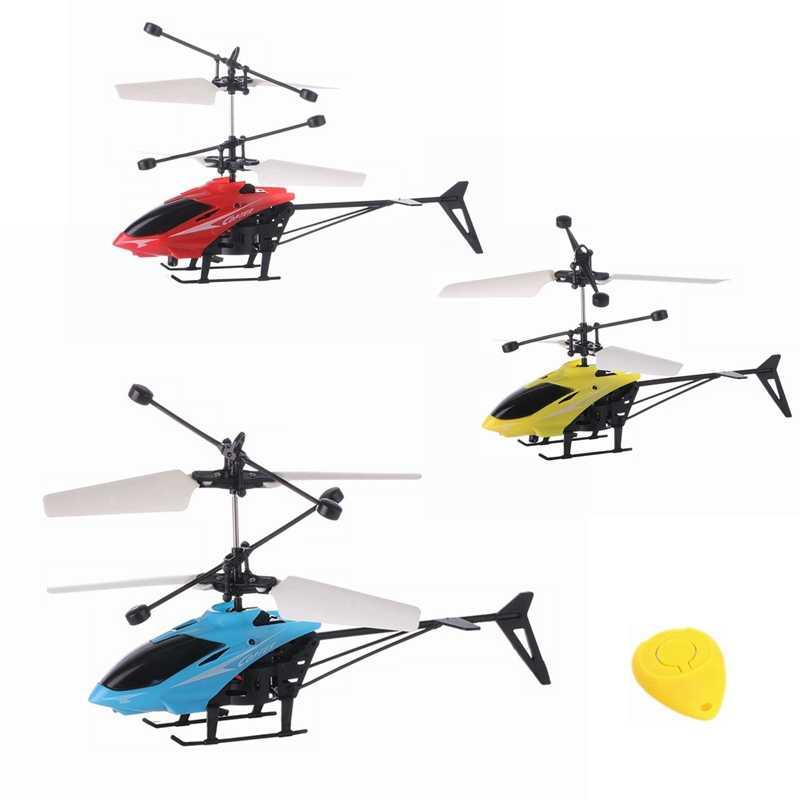 Мини-Дрон Летающий вертолет светодиодный мигающий светильник детские игрушки Infraed индукционный Самолет RC вертолеты дроны игрушка для детей подарок